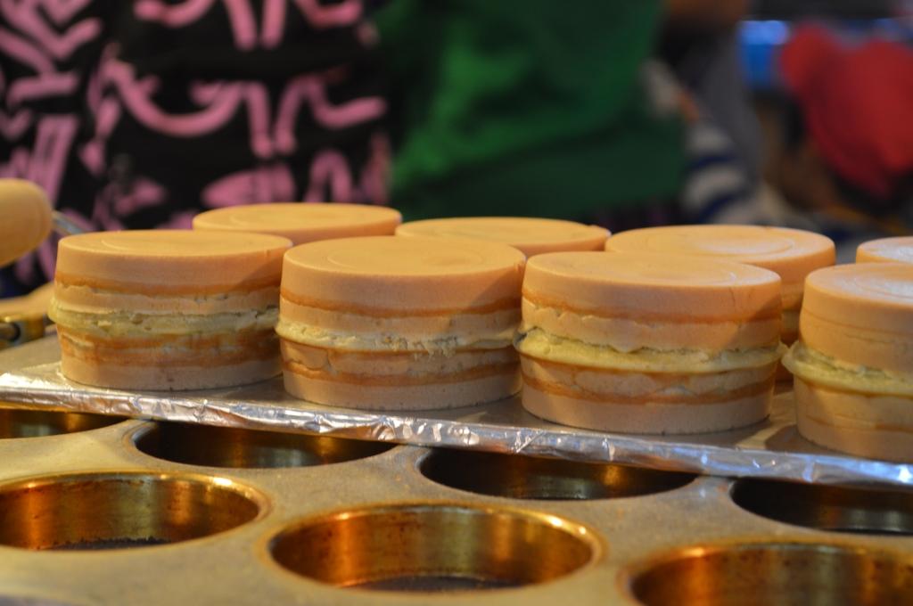 Tortine alla crema di Jioufen