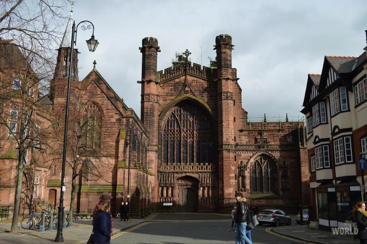 chester cathedral facciata