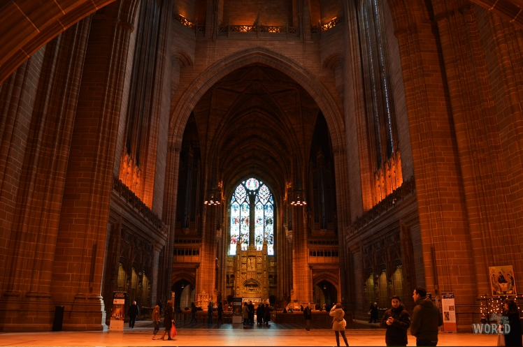 Liverpool Cathedral interno