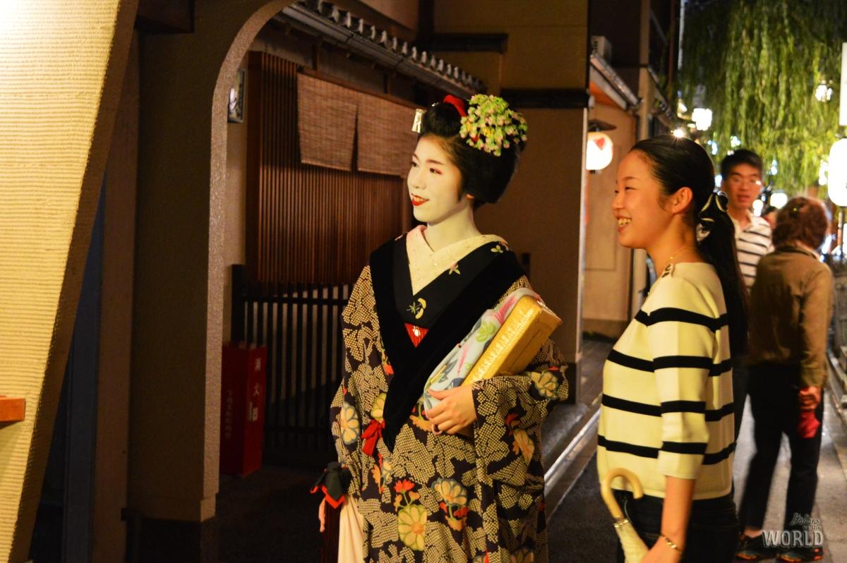Quella volta che ho incontrato una Geisha