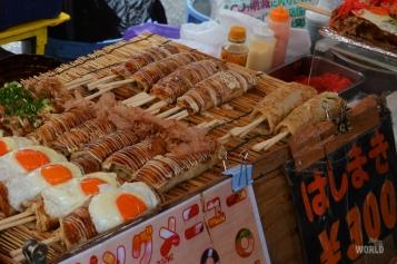 Hashimaki al Toji Market di Kyoto