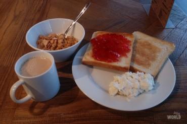 La mia colazione quotidiana!