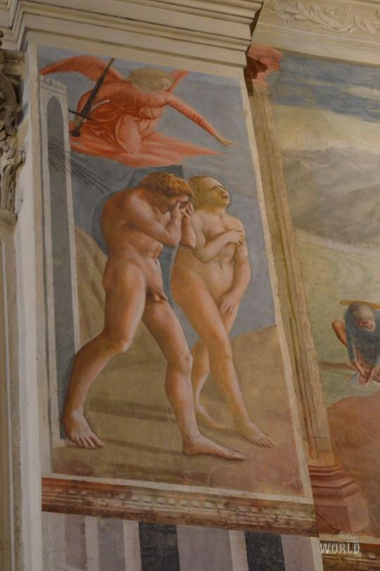 La cacciata di Adamo ed Eva dal Paradiso Terrestre - Masaccio