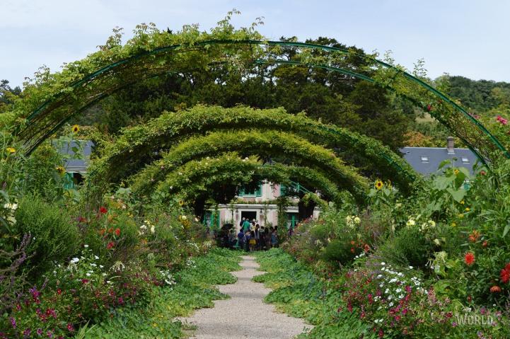 Panorama di Il giardino dell'artista a Giverny