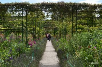 Panorama de Il giardino dell'artista a Giverny