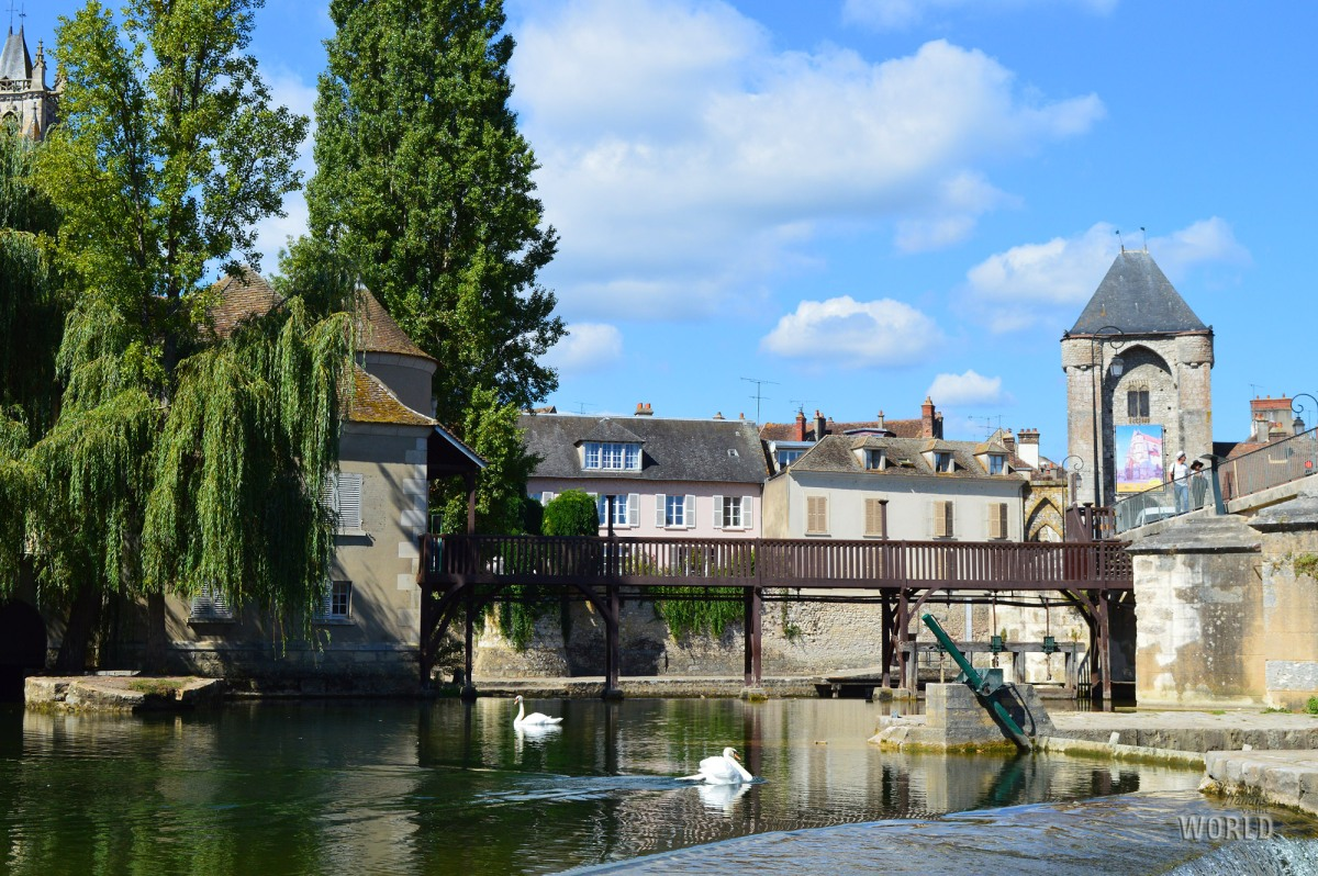 Come in una favola medievale a Moret-sur-Loing
